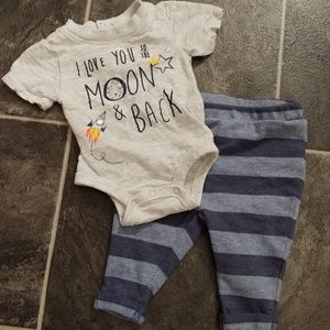 👶 Newborn boys pants set outfit 👶